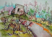 Ruinas en la viña / Ruines dans la vigne - Jicé