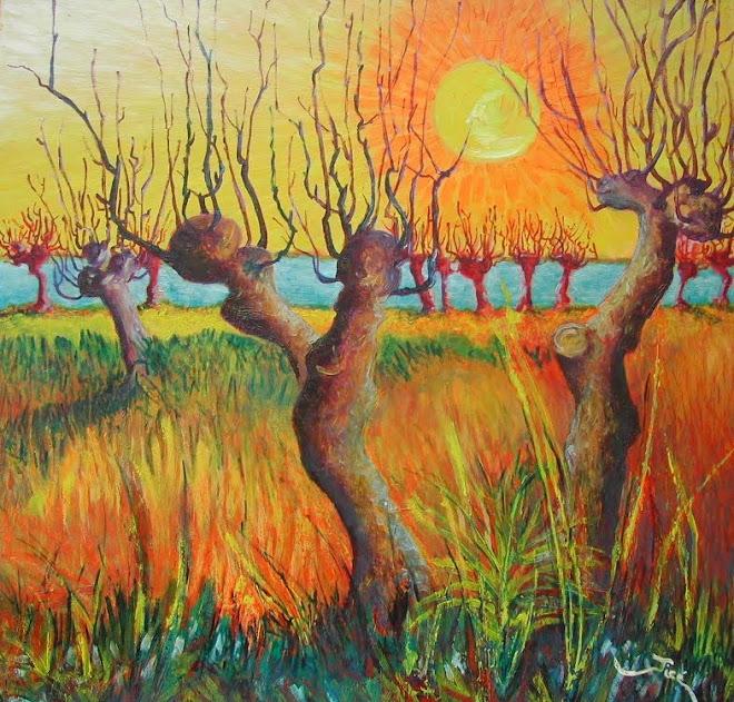 Los sauces / Les Saules d'après V. Van Gogh  - Jicé