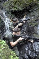 vienen 213 militares mas de USA a la selva ayacuchan ( emitido en 14 de julio del 2008)