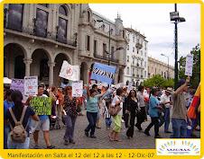 SALTA - El 12 del 12 a las 12 - Manifestación Nacional