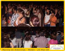Marcha de Antorchas - METAN - 20-Mar-08