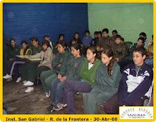 Jornadas de Concientización en Escuelas de Rosario de la Frontera