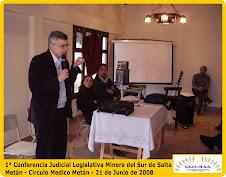 1ª Conferencia Judicial Legislativa Minera del Sur de Salta – ÉXITO TOTAL