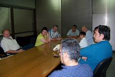 VAPUMAS y CIUDADANOS DE ROSARIO DE LA FRONTERA se reunieron con el Secretario de Minería