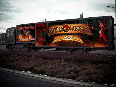 "truck preview - HELLOWEEN & GAMMA RAY ""Hellish Rock Part II"" Tour 2013."