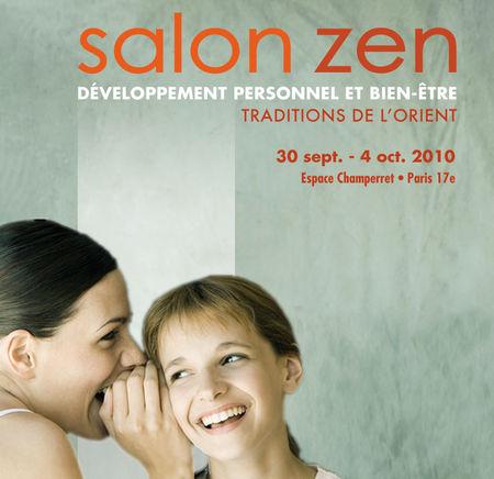 Essentielle zen un salon pour vivre mieux for Salon zen champerret