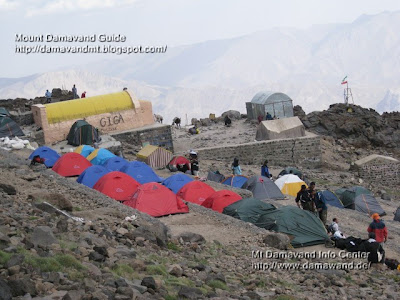Damavand Camp 3 - Bargah Sevom