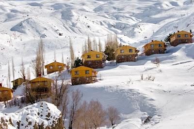 Ski Resort Dizin Tehran, Iran