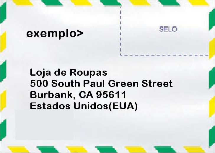 como mandar uma carta internacional g
