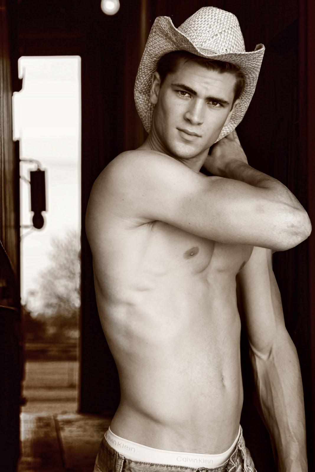 male models cowboys