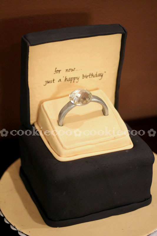 Cake Shaped Like Diamond Ring http://www.ruhalayaseminary.org/demo/ring-cake