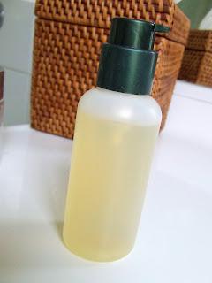 homemade shaving gel