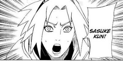 Naruto Manga 482 Sakura And Sasuke...