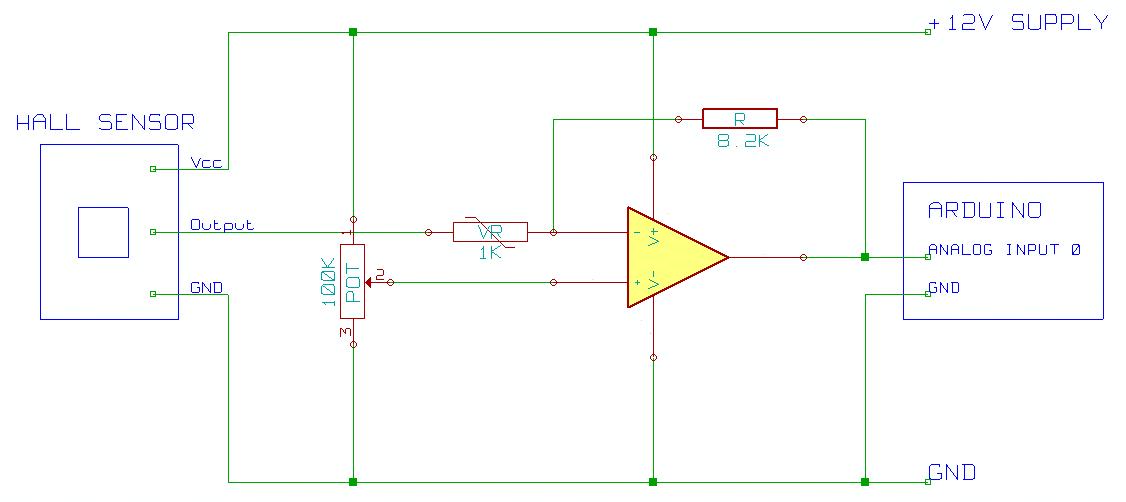 Archive    Hall Effect Sensor Circuit Diagram