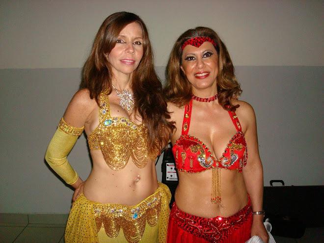 Zamira y Alessandra Ciacchella, maestra de danza pura egipcia