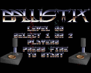 Ballistix on the Amiga