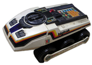 Big Trak by MB - note the programmable keypad
