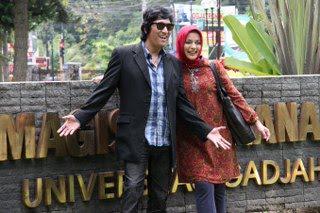 Kenangan Manis Kami di Yogyakarta, 25 Januari 2011: Ikang Fawzi & Marissa Haque