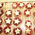 Shabby Country Star Shaped Jam Tarts