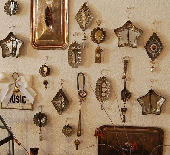 Fantastic and original decorations. - Shabby Chic Christmas Finds On Etsy I Heart Shabby Chic