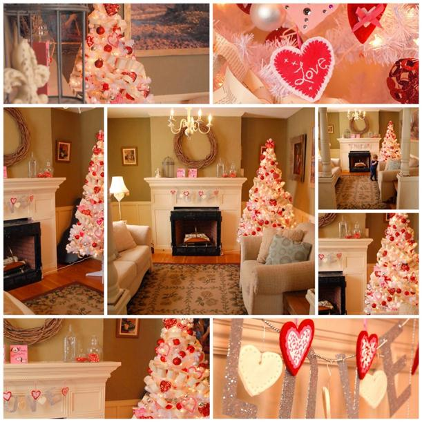 I heart shabby chic valentines decorating ideas for Home decorations for valentine s day