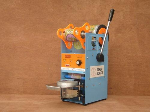 mesin penutup gelas plastik cup seller mesin cup sealer adalah sebuah ...