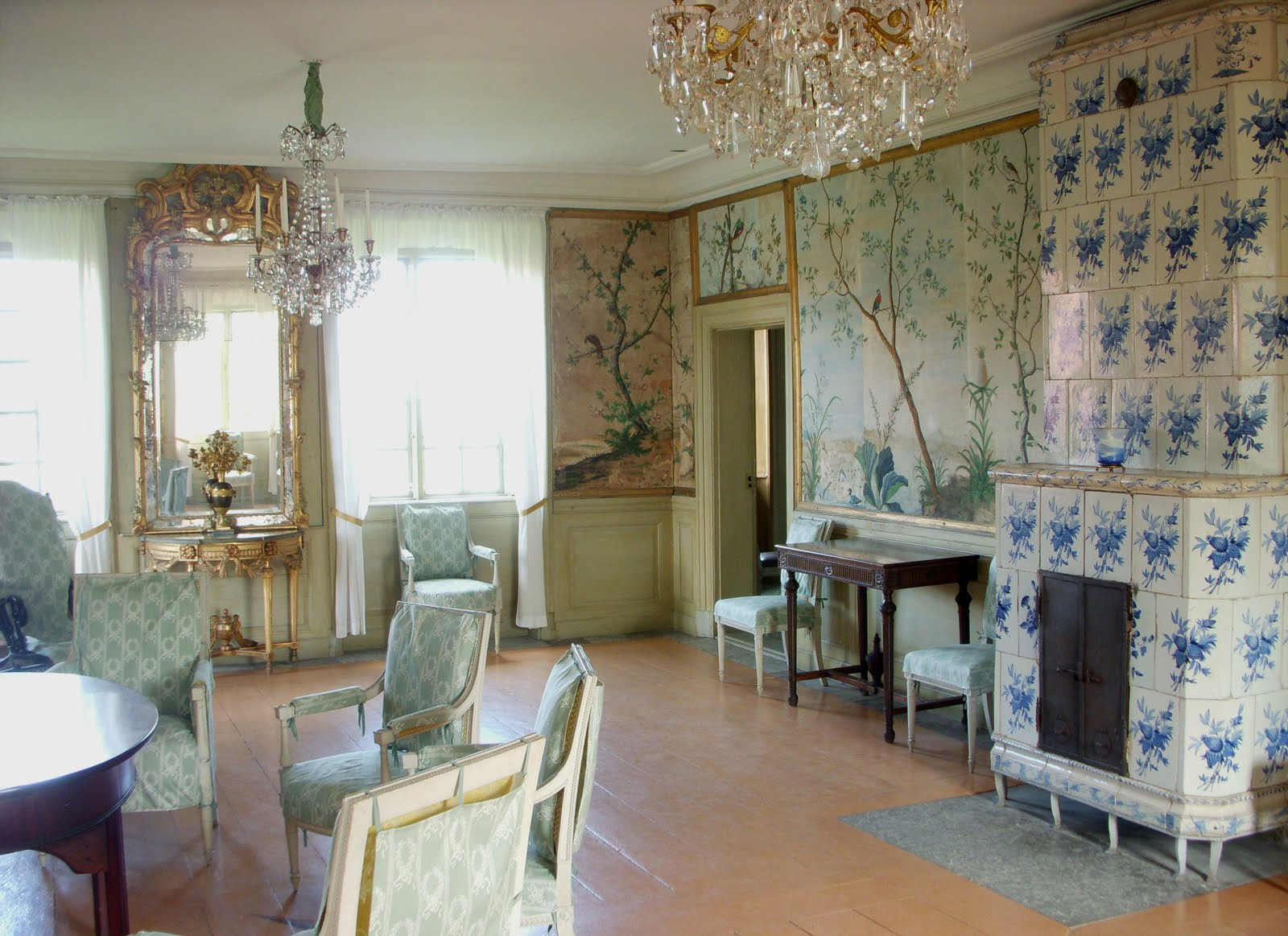 Swedish Interiors By Eleish Van Breems A Rococo Jewel