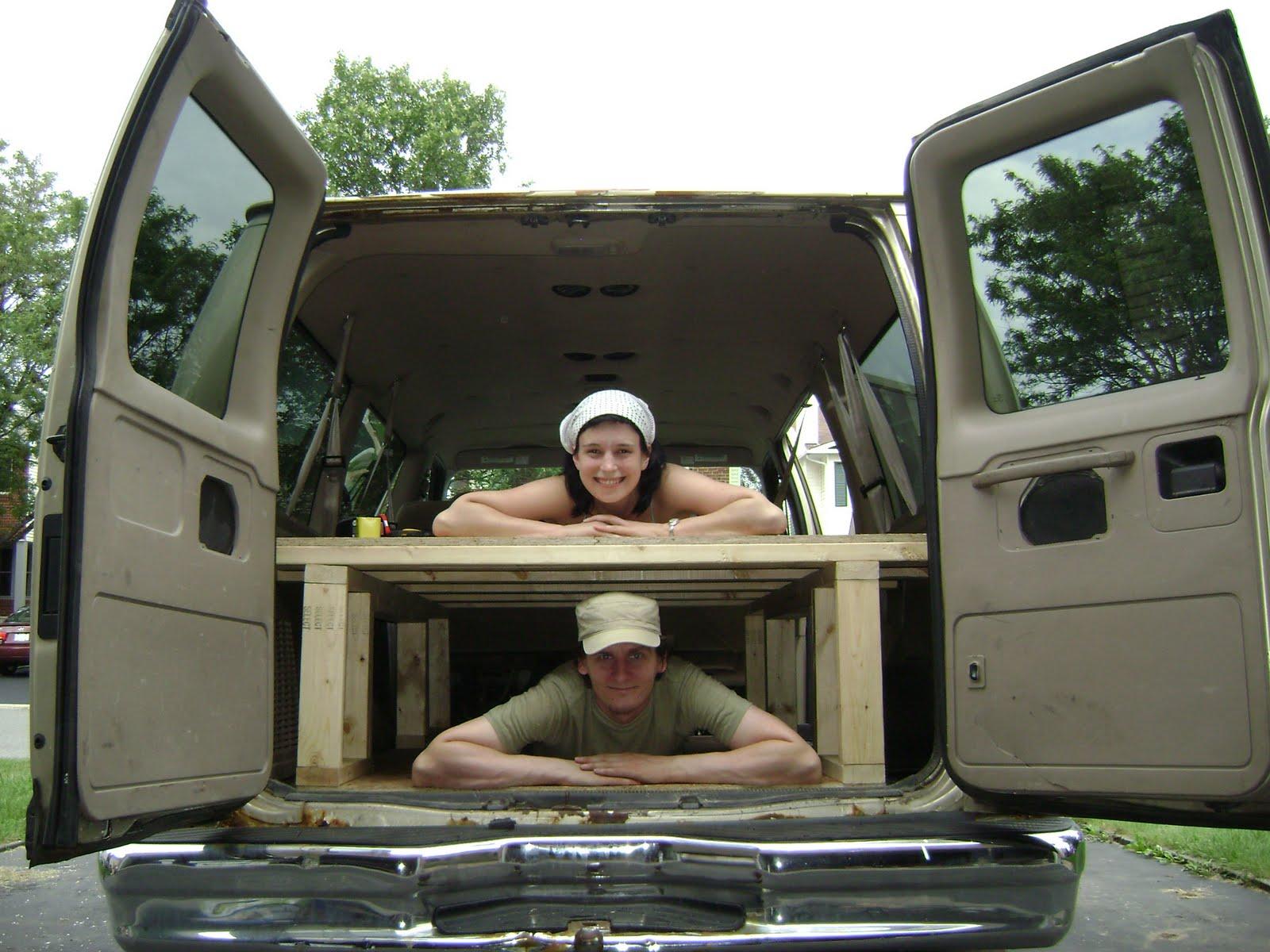Conversion Van Bed with Storage