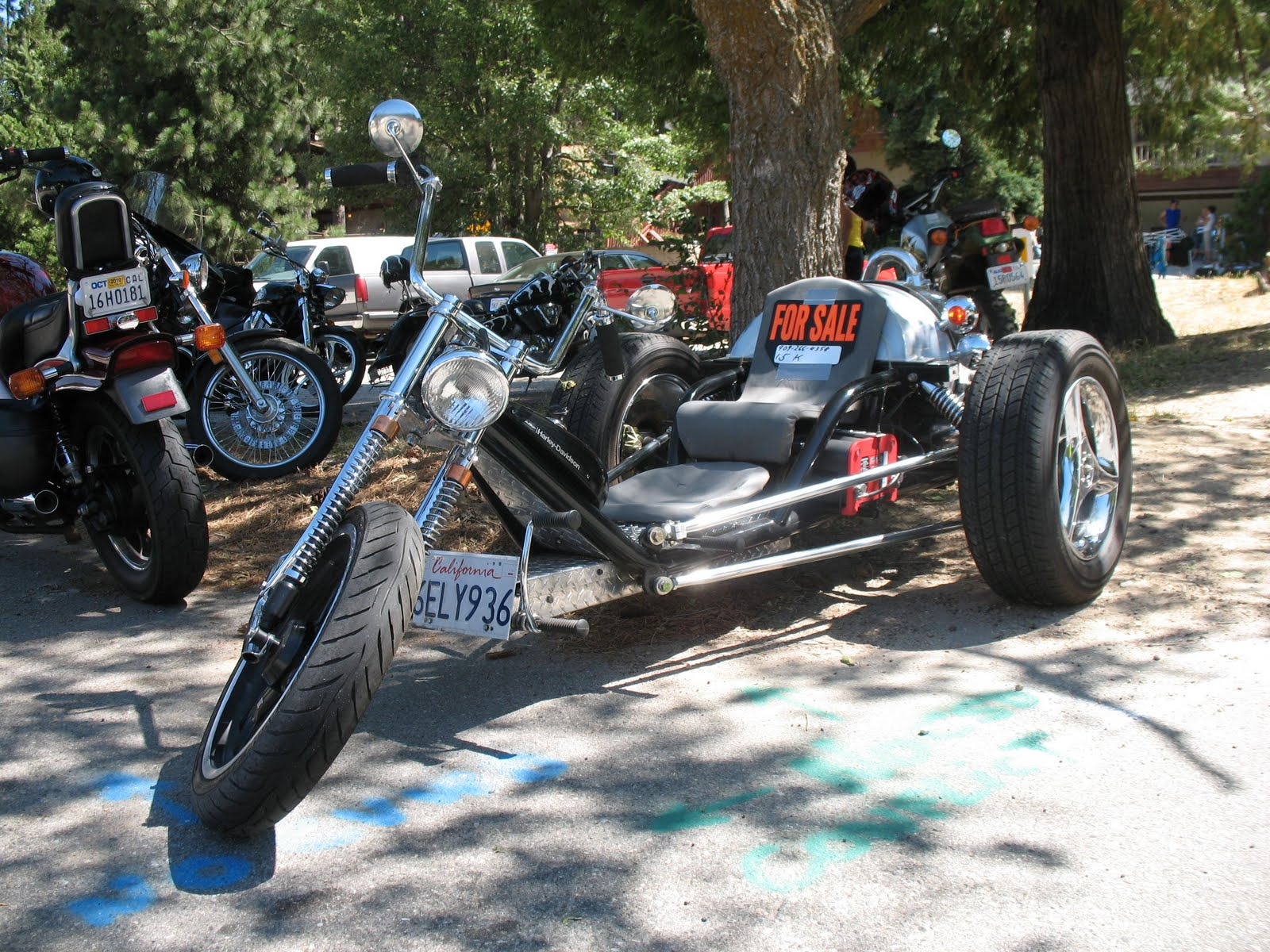 Home Built Vw Trikes submited images.