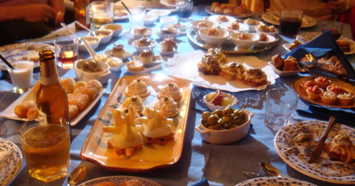 Las recetas de marichu y las mias cena degustaci n de pintxos - Cena con amigos en casa ...