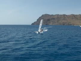 Windsuf intense!! Baia de Sao Pedro, Cabo Verde!