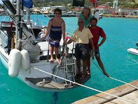 En famille aux Antilles....