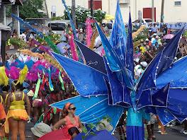 Explosion de couleurs du carnaval!