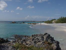 La plage parfaite de Blanquilla....