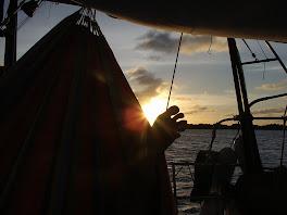 Ah les couchers de soleil!!