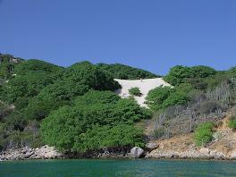 La majestueuse dune de Testigo Grande..