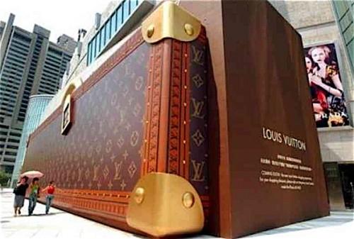 Loja Louis Vuitton na China...Fantástica.