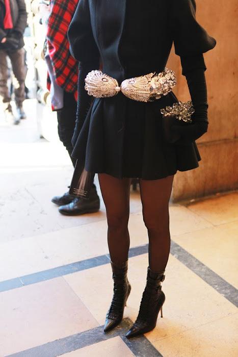 Anna Delo Russo...editora da Vogue Nipon na semana de moda em París.
