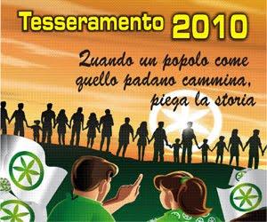 Tesseramento Anno 2010