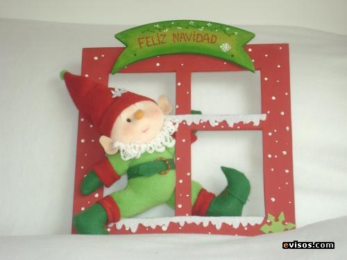 Creatividades latinas notas curiosas sobre la navidad for Adorno navidad puerta entrada