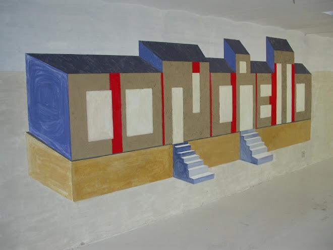 """Mural """"Concreto"""", Marsella, 2005"""