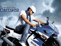 allu Arjun in Aarya 2 - Tamilposters.com