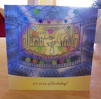 operatic birthday card