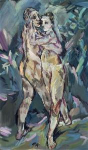 Kokoschka: Two Nudes