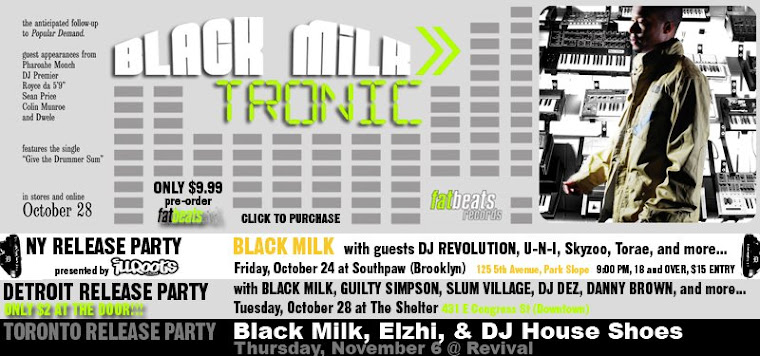 Black Milk - Tronic