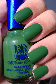 BB Couture for nails Poison Ivy