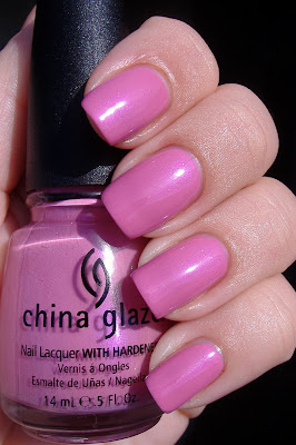 china glaze pink underground nail polish