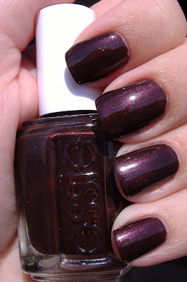 essie decadent diva nail polish swatch