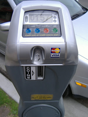 credit card parking meter