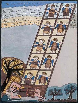 Jacob's Ladder by Shalom of Safed